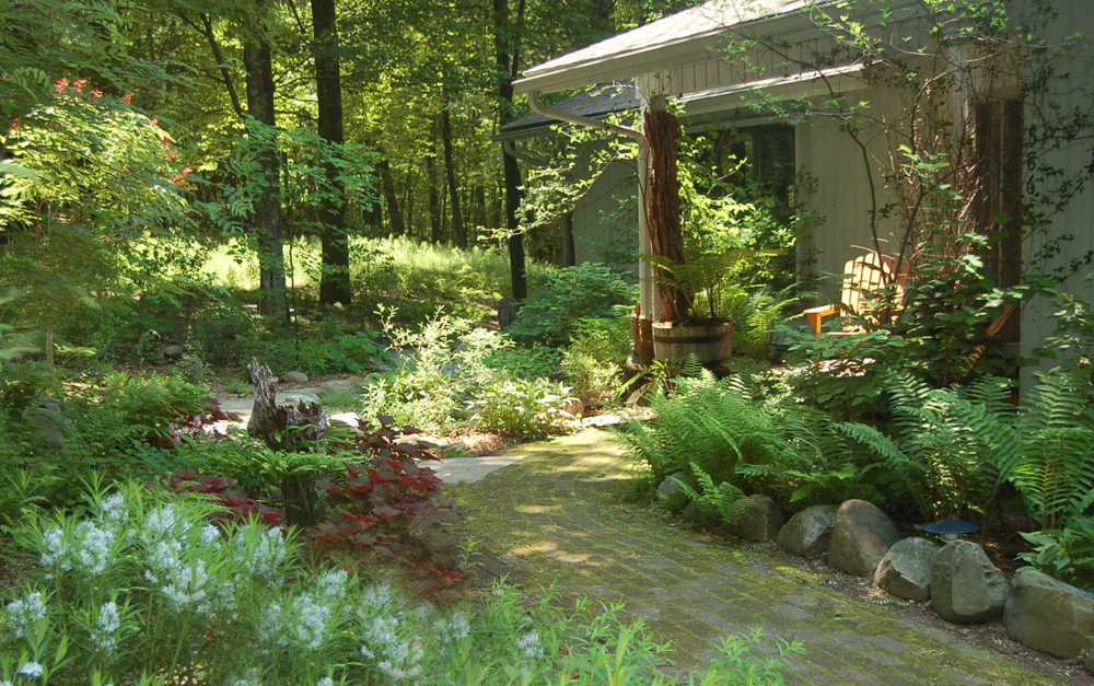 Ten elements of natural design larry weaner landscape for Natural landscape design