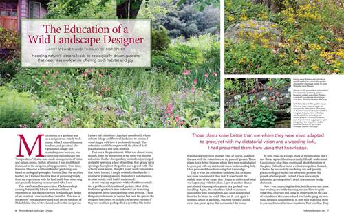 Education of Wild Landscape Designer